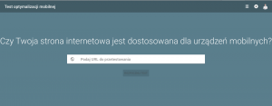 testowanie zgodności strony internetowej z urządzeniami mobilnymi