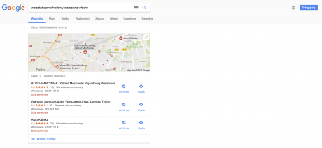 jak pozyskać klienta z wyników wyszukiwania google