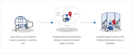 facebook look a like grape podobnych klientów