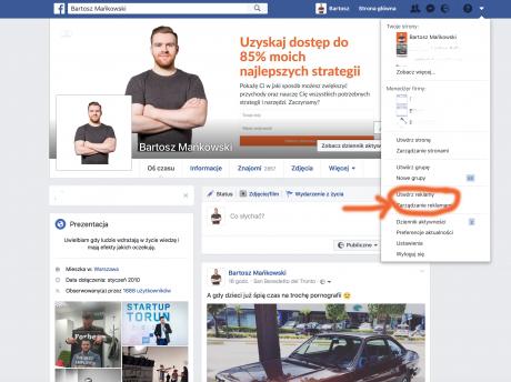 skuteczna reklama na facebooku jak stworzyc